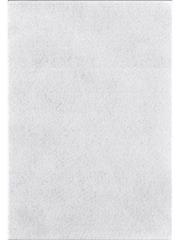 Набор Фетр Santi мягкий, белый, 21*30см (10л) (741404) [5056137106707]
