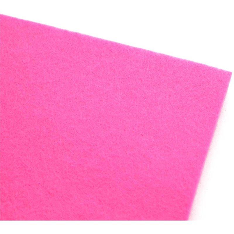 Фото Набор Фетр Santi мягкий, глубокий розовый, 21*30см (10л) (741856) [5056137132379]