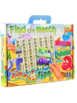 "Набор для творчества ""Find the match"" ""Dino Life"" (953025) [4823091901454]"