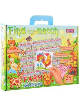 "Набор для творчества ""Find the match"" ""Farm Animals"" (953029) [4823091901478]"