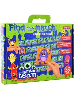 "Набор для творчества ""Find the match"" ""Monster team"" (953021) [4823091900822]"