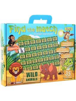 "Набор для творчества ""Find the match"" ""Wild Animals"" (953027) [4823091901461]"