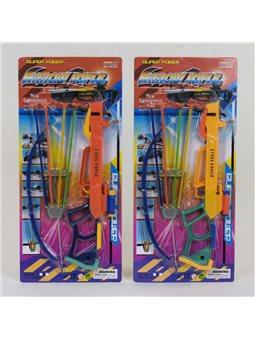 Арбалет 385 А (72/2) 2 цвета, с луком и стрелами, на листе [6973518310562]