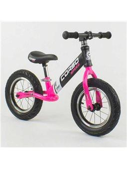 """Велобег """"CORSO"""" 88621 (1) стальная рама, колесо 12"""", надувные колёса [6800082886216]"""