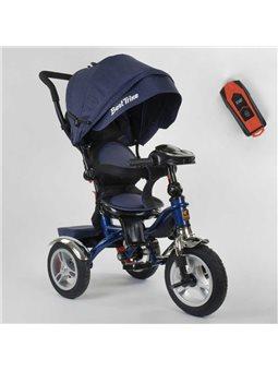 Велосипед 3-х колёсный 5890 / 83-067 Best Trike (1) ФАРА C USB, ПОВОРОТНОЕ СИДЕНИЕ, СКЛАДНОЙ РУЛЬ, Рус.озвучка, НАДУВНЫЕ КОЛЕСА,