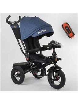 Велосипед 3-х колёсный 6088 F - 09-504 Best Trike (1) ФАРА С USB, ПОВОРОТНОЕ СИДЕНИЕ, СКЛАДНОЙ РУЛЬ, РУССКОЕ ОЗВУЧИВАНИЕ, НАДУВН