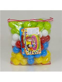"""гр Набор шариков для сухих басейнов 4548 (2) 100шт, 80мм, """"ТЕХНОК"""", в сумке [4823037604548]"""