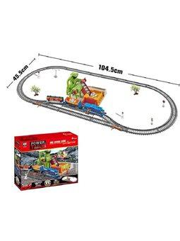 Железная дорога 20817 (12/2) свет, 2 скорости, на батарейках, в коробке [6976786062638]