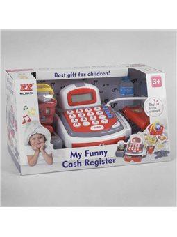 Кассовый аппарат 2815 N (12) калькулятор, продукты, звук, свет, на бат-ке, в кор-ке [6966576051201]