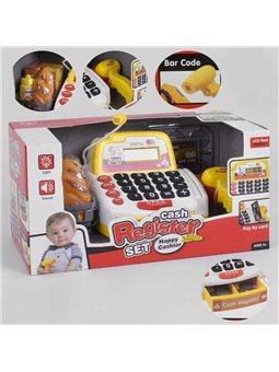 Кассовый аппарат 35532 В (12) свет, звук, микрофон, сканер, корзинка с продуктами, в коробке [6965539400377]