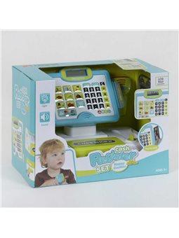 Кассовый аппарат 35558 А (6) свет, звук, микрофон, сканер, с аксессуарами, в коробке [6965539400483]