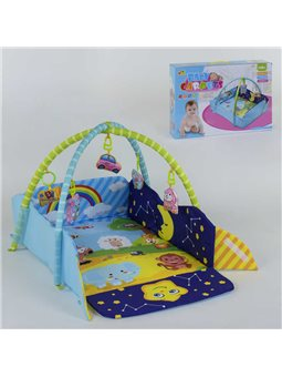 Коврик для младенца 127-22 (12) 5 мягких подвесок, в коробке [6985919250330]