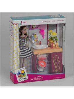 Кукла JX 200-53 (36/2) с аксессуарами, в коробке [6973491434668]