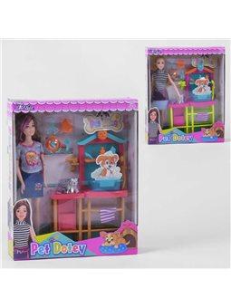 Кукла «Ветеринар» JX 200-99 (36/2) 2 вида, в коробке [6973491250015]