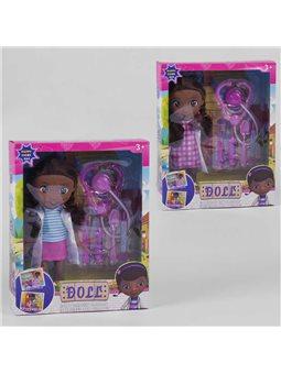 Кукла музыкальная 9311 (36/2) 2 вида, звук, в коробке [6977099436925]