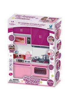 Кухня 66045-3 (30) плита со звуком и подсветкой, в коробке [6967450351448]