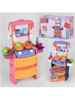 Кухня 768-3/4 (24/2) 2 цвета, 20 аксессуаров, свет, звук, в коробке [6965667400119]