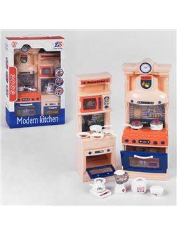 Кухня кукольная 32221 (36/2) с посудкой, подсветка, звуковые эффекты, в коробке [6980844400232]