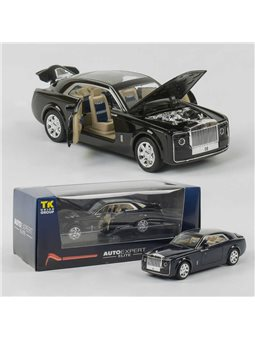 """Машина металлическая EL 8737 (36) """"Auto Expert"""", 2 цвета, свет, звук, открываются двери, в коробке [6975607090706]"""