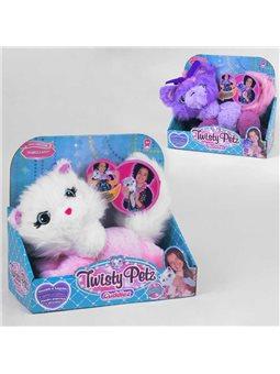 """Мягкая игрушка """"Плюшевый браслет"""" 800-28 (48/2) 2 вида, превращается в украшение, в коробке [6978416400018]"""