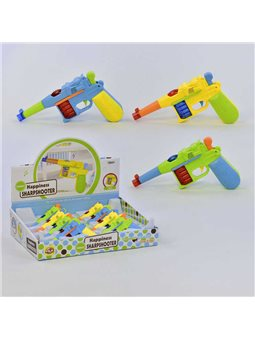 Набор пистолетов 8833 А (30) /ЦЕНА ЗА БЛОК/ 8шт в блоке, музыкальные, светятся [6904666424146]
