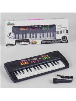 Пианино YYX 003 USB (36) на батарнйке, с микрофоном, 32 клавиша, мелодии, в коробке [6970006295752]