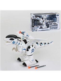 """Робот """"Дракон"""" 0830 (24/2) ходит, звуковые эффекты, стреляет ракетами на присосках, в коробке [6990279010098]"""