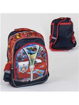 Рюкзак школьный С 36262 (50) 2 отделения, 3 кармана, 3D принт, мягкая спинка [6900067362629]