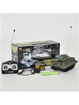 Танк на радиоуправлении 9342 Play Smart (24/2) 2 цвета, в коробке [6965979080078]
