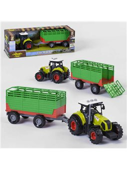 Трактор 550-8 E (36/2) свет, звук, инерция, в коробке [6983815111144]
