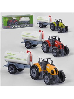 Трактор металлопластик FC 17-43 (120) 3 цвета, в коробке [6969630650051]