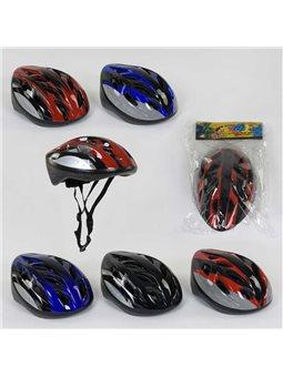 Шлем защитный B 31985 (40) 4 цвета, в кульке [6900066319853]