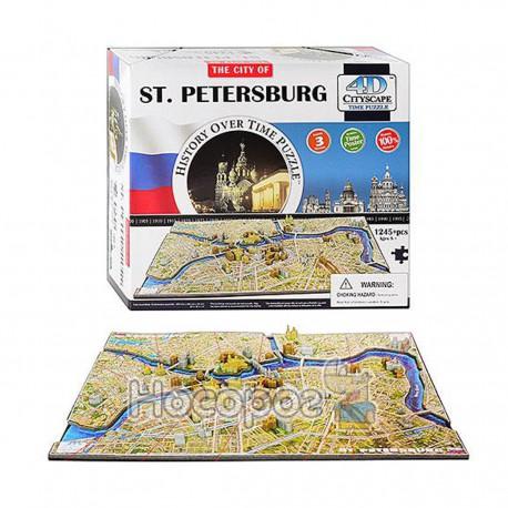 Пазл 4D 40036 Санкт-Петербург 1245дет, 30,5*26,5*9см (4)