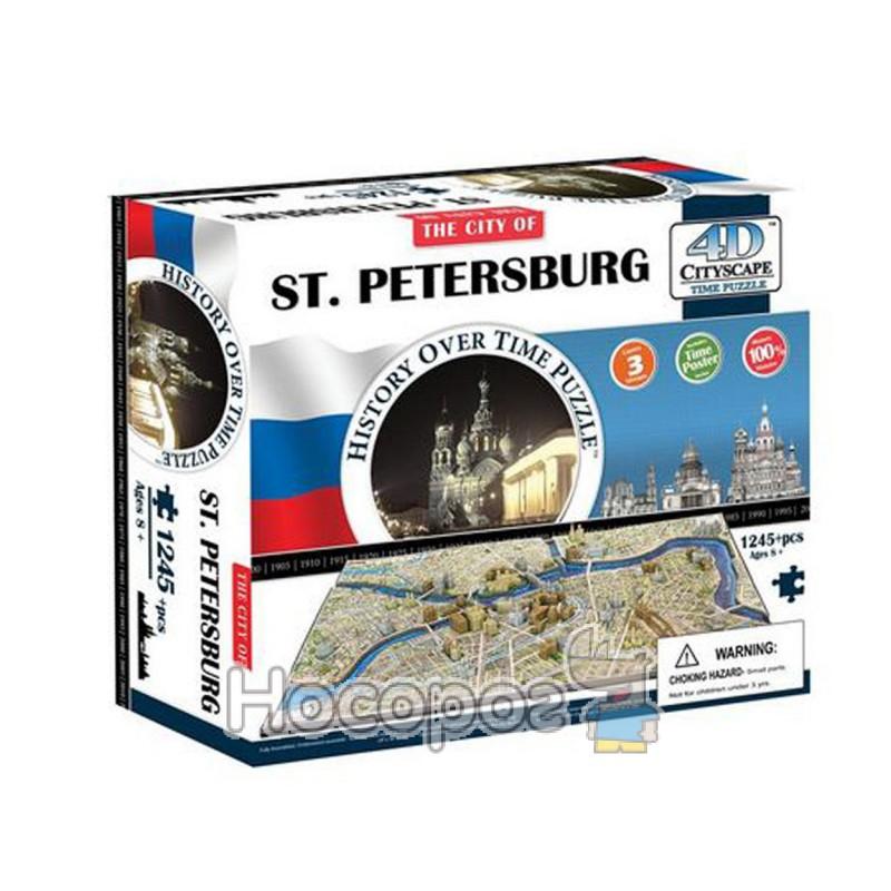 Фото Пазл 4D 40036 Санкт-Петербург 1245дет, 30,5*26,5*9см (4)