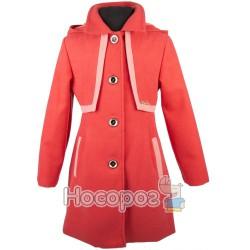 Пальто кашемировое однотонное для девочек (подросток)