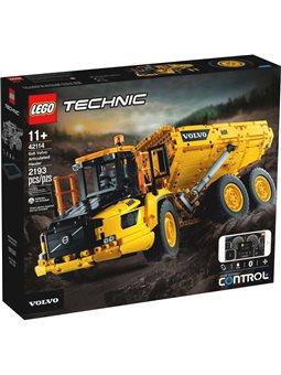 LEGO Technic Шарнірний самоскид Volvo A25F 6х6 (42114)