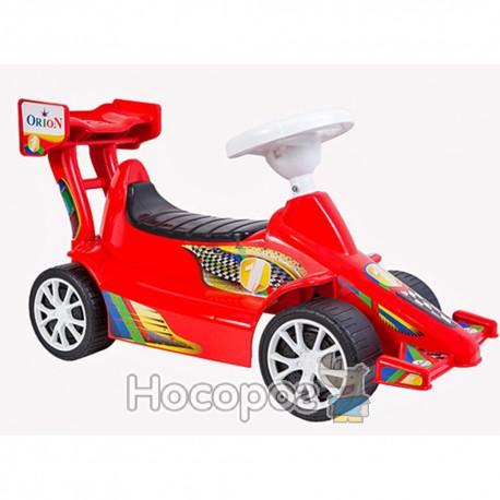 Машинка для катания СУПЕР СПОРТ красная 894