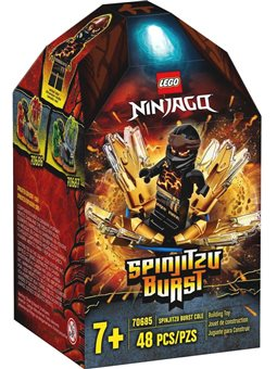 LEGO Ninjago Турбо спін-джитсу: Коул (70685)