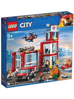 LEGO City Пожежне депо (60215)