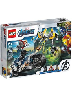LEGO Super Heroes Месники: атака на швидкісному мотоциклі (76142)