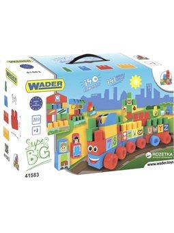 Конструктор Wader Middle Blocks Супер большой 140 элементов (41583)