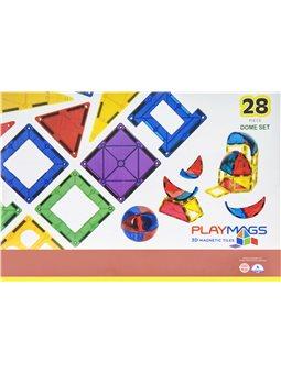 Конструктор Playmags магнитный набор 28 ел. PM164