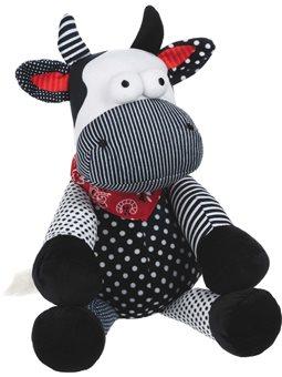 Мягкая игрушка Same Toy Корова / Бык (черно-белый) 30см A1057 / 30