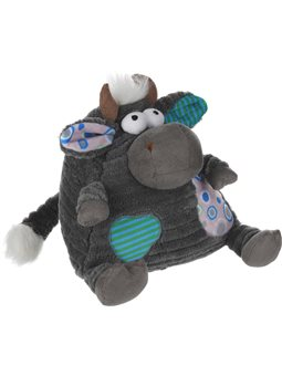 Мягкая игрушка Same Toy Корова / Бык (серый) 18см A1004 / 18