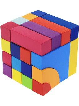 Конструктор деревянный goki Строительные блоки 58660