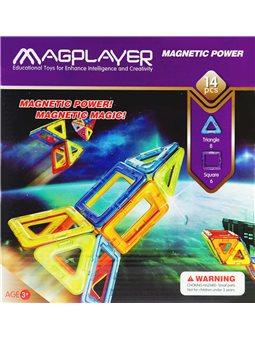 Детский конструктор MagPlayer 14 ед. (MPB-14)