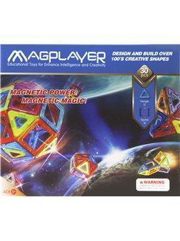 Детский конструктор MagPlayer 30 ед. (MPB-30)