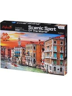 Пазл Same Toy Scenic Spot 500 ел. 88036Ut