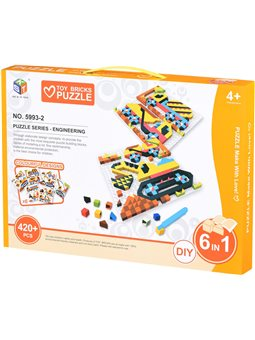 Пазл Same Toy Мозаика Colour ful designs 420 ел. 5993-2Ut