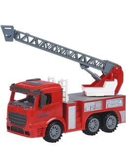 Машинка енерциойна Same Toy Truck Пожарная машина с выдвижная лестница 98-616Ut